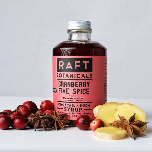 RAFT Cranberry Five Spice Syrup