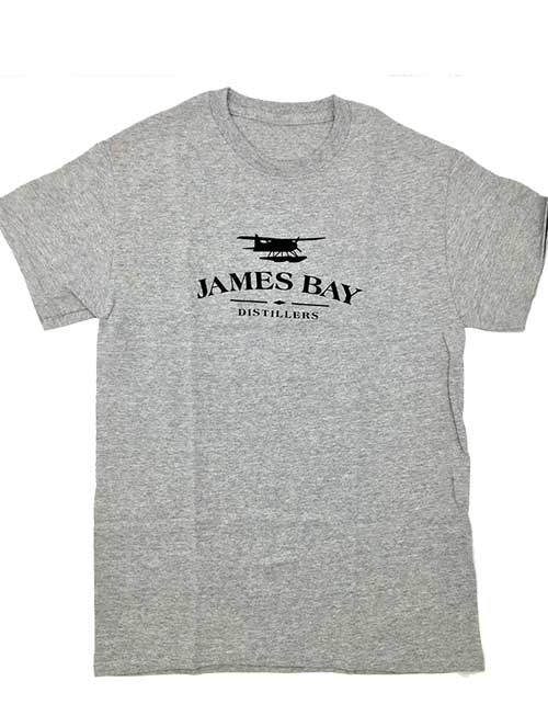 James Bay Distillers Float Plane Logo T-shirt