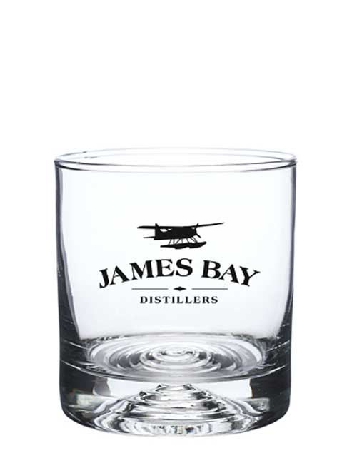James Bay Distillers rocks glasses